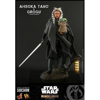 Figurines Star Wars The Mandalorian Ahsoka Tano & Grogu 29cm