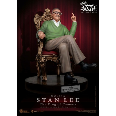 Statuette Stan Lee Master Craft The King of Cameos 33cm