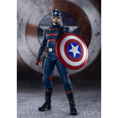 Figurine Le Falcon et le Soldat de l'Hiver S.H. Figuarts Captain America John F. Walker 15cm