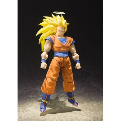 Figurine Dragon Ball Z S.H. Figuarts SSJ 3 Son Goku 16cm