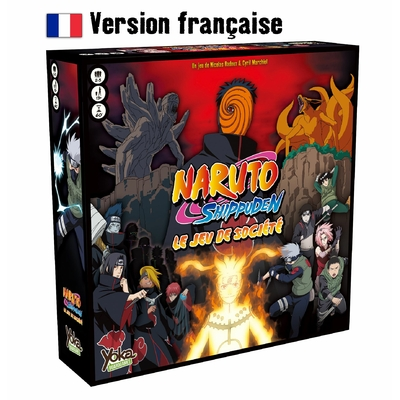 Naruto Shippuden Le jeu de société by Tsume