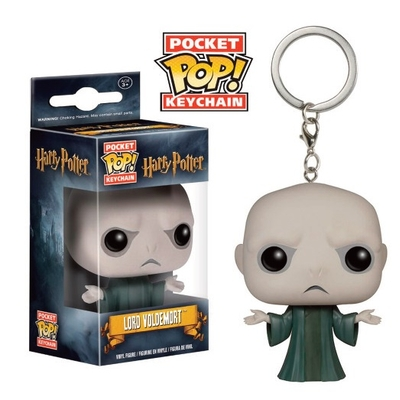 Porte-clés Harry Potter Pocket POP! Lord Voldemort 4cm