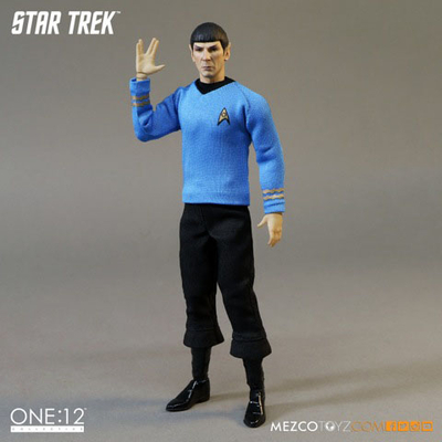 Figurine Star Trek Spock 15cm