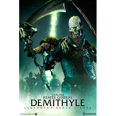 Statuette Court of the Dead Legendary Scale Demithyle - Exalted Reaper General 78cm