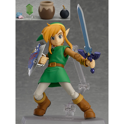 Figurine The Legend of Zelda A Link Between Worlds Figma Link  DX Edition 11cm