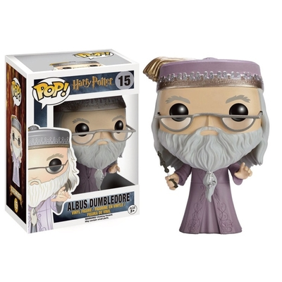 Figurine Harry Potter Funko POP! Dumbledore with Wand 9cm