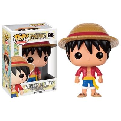Figurine One Piece POP! Monkey D. Luffy 9cm