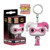 Porte-clés DC Comics Pocket POP! Harley Quinn Pink & White 4cm 1001 Figurines