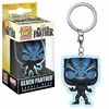 Porte-clés Black Panther Movie Pocket POP! Black Panther Glow 4cm 1001 Figurines