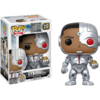 Figurine Justice League Funko POP! Cyborg with Mother Box Exclusive 09cm 1001 Figurines