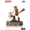 Statuette Dungeons & Dragons Art Scale Bobby The Barbarian & Uni 16cm 1001 Figurines