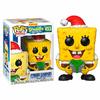Figurine Bob l´éponge Funko POP! SpongeBob Xmas 9cm 1001 Figurines