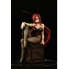 Statuette Fairy Tail Erza Scarlet Bunny Girl Style 20cm 1001 Figurines