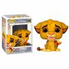 Figurine Le Roi lion Funko POP! Disney Simba 9cm 1001 figurines
