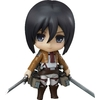 Figurine Nendoroid Attack on Titan Mikasa Ackerman 10cm 1001 Figurines (1)