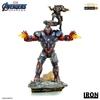 Statuette Avengers Endgame BDS Art Scale Iron Patriot & Rocket 28cm 1001 Figurines (1)