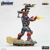 Statuette Avengers Endgame BDS Art Scale Iron Patriot & Rocket 28cm 1001 Figurines (2)