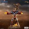 Statuette Avengers Endgame BDS Art Scale Iron Patriot & Rocket 28cm 1001 Figurines (9)