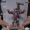 Statuette Avengers Endgame BDS Art Scale Iron Patriot & Rocket 28cm 1001 Figurines (12)