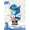 Diorama Disney Summer Series D-Stage Stitch Surf 15cm 1001 figurines (1)