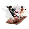 Statuettes Cowboy Bebop Spike Spiegel & Faye Valentine 1st GIG 20cm 1001 Figurines (3)