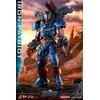Figurine Avengers Endgame Movie Masterpiece Series Diecast Iron Patriot 32cm 1001 figurines (3)