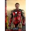 Figurine Avengers Endgame MMS Diecast Iron Man Mark LXXXV Battle Damaged Ver. 32cm 1001 figurines (2)