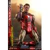 Figurine Avengers Endgame MMS Diecast Iron Man Mark LXXXV Battle Damaged Ver. 32cm 1001 figurines (3)