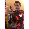 Figurine Avengers Endgame MMS Diecast Iron Man Mark LXXXV Battle Damaged Ver. 32cm 1001 figurines (5)