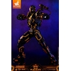 Figurine Iron Man 2 Movie Masterpiece Series Diecast Neon Tech War Machine Hot Toys Exclusive 1001 Figurines (4)