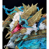 Diorama Monster Hunter The Thunder Wolf Wyvern 56cm 1001 Figurines (9)