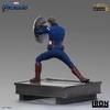 Statuette Avengers Endgame BDS Art Scale Captain America 2023 - 19cm 1001 Figurines (3)