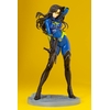Statuette G.I. Joe Bishoujo Baroness 25th Anniversary Blue Color Ver. 23cm 1001 Figurines (3)