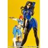 Statuette G.I. Joe Bishoujo Baroness 25th Anniversary Blue Color Ver. 23cm 1001 Figurines (12)