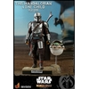 Pack 2 figurines Star Wars The Mandalorian - The Mandalorian & The Child Deluxe 30cm 1001 figurines (1)