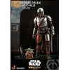 Pack 2 figurines Star Wars The Mandalorian - The Mandalorian & The Child Deluxe 30cm 1001 figurines (3)