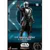 Pack 2 figurines Star Wars The Mandalorian - The Mandalorian & The Child Deluxe 30cm 1001 figurines (6)