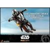 Pack 2 figurines Star Wars The Mandalorian - The Mandalorian & The Child Deluxe 30cm 1001 figurines (9)