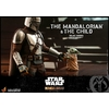 Pack 2 figurines Star Wars The Mandalorian - The Mandalorian & The Child Deluxe 30cm 1001 figurines (10)
