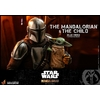 Pack 2 figurines Star Wars The Mandalorian - The Mandalorian & The Child Deluxe 30cm 1001 figurines (12)