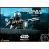 Pack 2 figurines Star Wars The Mandalorian - The Mandalorian & The Child Deluxe 30cm 1001 figurines (17)