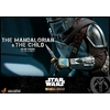 Pack 2 figurines Star Wars The Mandalorian - The Mandalorian & The Child Deluxe 30cm 1001 figurines (20)