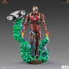 Statuette Spider-Man Far From Home BDS Art Scale Deluxe Iron Man Illusion 21cm 1001 Figurines (2)