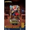 Diorama Hearthstone Heroes of Warcraft D-Stage Leeroy Jenkins 16cm 1001 Figurines (5)