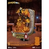 Diorama Hearthstone Heroes of Warcraft D-Stage Ragnaros the Firelord 16cm 1001 Figurines (5)