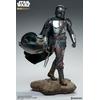 Statuette Star Wars The Mandalorian Premium Format The Mandalorian 51cm 1001 Figurines (5)