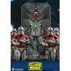 Figurine Star Wars The Clone Wars Coruscant Guard 30cm 1001 Figurines (6)