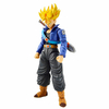 Maquette Model Kit Dragon Ball Z Super Saiyan Trunks 14cm1001 Figurines 2