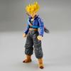 Maquette Model Kit Dragon Ball Z Super Saiyan Trunks 14cm1001 Figurines 3
