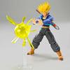 Maquette Model Kit Dragon Ball Z Super Saiyan Trunks 14cm1001 Figurines 4